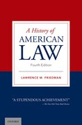 Cover for A History of American Law