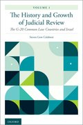 Cover for The History and Growth of Judicial Review, Volume 1