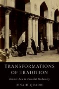 Cover for Transformations of Tradition