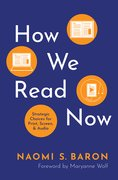 Cover for How We Read Now