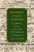 Cover for Brahms