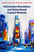 Cover for Information Resolution and Subnational Capital Markets