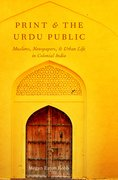 Cover for Print and the Urdu Public