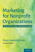 Cover for Marketing for Nonprofit Organizations - 9780190090807