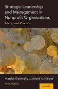 Cover for Strategic Leadership and Management in Nonprofit Organizations