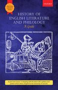 Cover for History of English Literature and philology