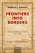 Cover for Frontiers into Borders