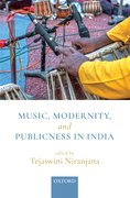 Cover for Music, Modernity, and Publicness in India
