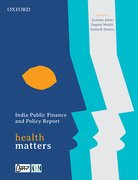 Cover for India Public Finance and Policy Report