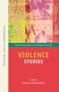 Cover for Violence Studies OIP