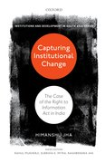 Cover for Capturing Institutional Change