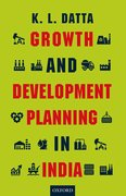 Cover for Growth and Development Planning in India
