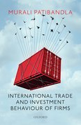 Cover for International Trade and Investment Behaviour of Firms