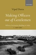 Cover for Making Officers out of Gentlemen
