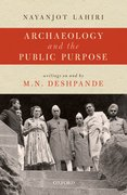 Cover for Archaeology and the Public Purpose