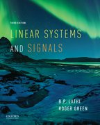 Cover for Linear Systems and Signals