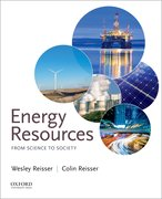 Cover for Energy Resources:  From Science to Society