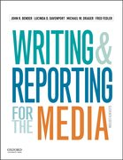 Cover for Writing and Reporting for the Media