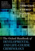 Cover for The Oxford Handbook of Developmental and Life-Course Criminology