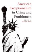 Cover for American Exceptionalism in Crime and Punishment