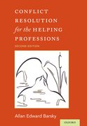 Cover for Conflict Resolution for the Helping Professions