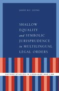 Cover for Shallow Equality and Symbolic Jurisprudence in Multilingual Legal Orders