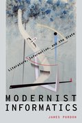 Cover for Modernist Informatics