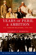Cover for Years of Peril and Ambition