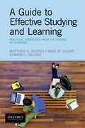 Cover for A Guide to Effective Studying and Learning