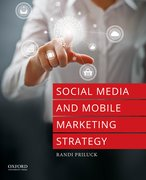 Cover for Social Media and Mobile Marketing Strategy