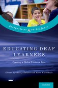 Cover for Educating Deaf Learners
