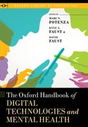 Cover for The Oxford Handbook of Digital Technologies and Mental Health