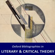Cover for Oxford Bibliographies in Literary and Critical Theory
