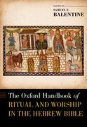 Cover for The Oxford Handbook of Ritual and Worship in the Hebrew Bible