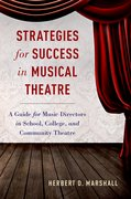 Cover for Strategies for Success in Musical Theatre