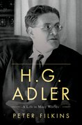 Cover for H. G. Adler