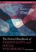 Cover for The Oxford Handbook of Personality and Social Psychology - 9780190224837