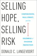 Cover for Selling Hope, Selling Risk