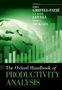Cover for The Oxford Handbook of Productivity Analysis