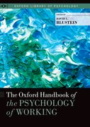 Cover for The Oxford Handbook of the Psychology of Working