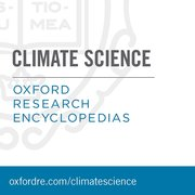 Cover for Oxford Research Encyclopedias: Climate Science