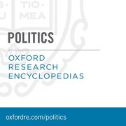 Cover for Oxford Research Encyclopedias: Politics
