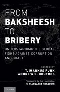 Cover for From Baksheesh to Bribery