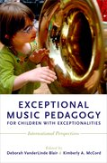 Cover for Exceptional Music Pedagogy for Children with Exceptionalities