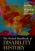 Cover for The Oxford Handbook of Disability History
