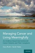 Cover for Managing Cancer and Living Meaningfully