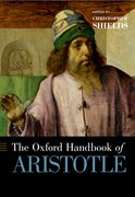 Cover for The Oxford Handbook of Aristotle