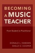 Cover for Becoming a Music Teacher
