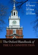 Cover for The Oxford Handbook of the U.S. Constitution
