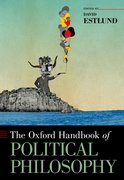 Cover for The Oxford Handbook of Political Philosophy